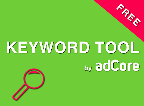 FREE Keyword Tool by adCore