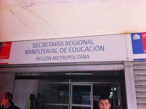Photo: Carta SEREMI Educaci�n