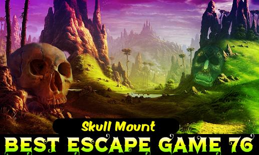 Best Escape 76-  Skull Mount - náhled