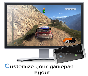 DroidJoy Gamepad Joystick Demo- screenshot thumbnail