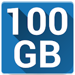 100 GB Free Cloud Drive from Degoo Icon