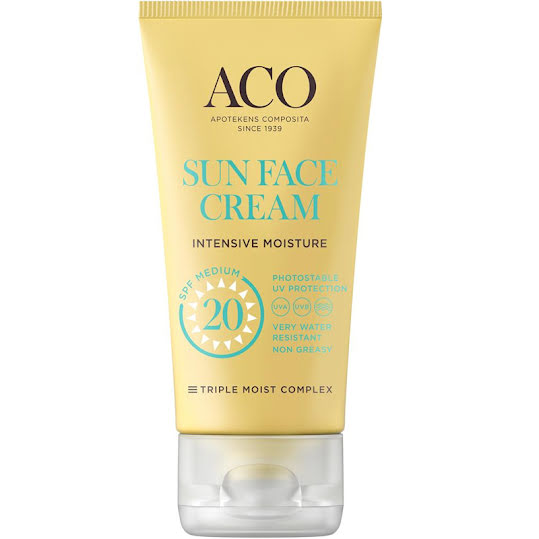 ACO Sun Face Cream SPF 20 50 ml