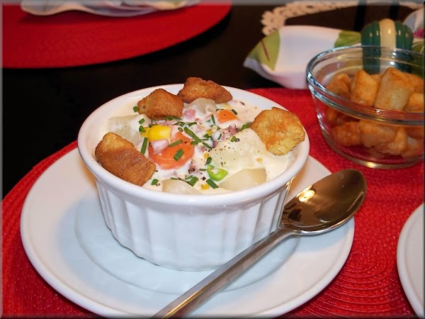 Ham Chowder Delight Recipe