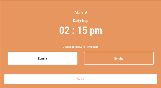 Smarty Alarm screenshot