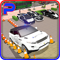 Extreme Police Car Spooky Stunt Parking 3D icon
