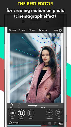 PhotoMotion Maker, Living & Animated Photo Creator 1.1 screenshots 1