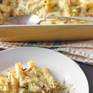 Pesto Penne and Cheese.