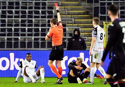 Aangeslagen Jhon Lucumi pakt rood tegen Anderlecht, maar is niet geschorst voor de bekerfinale
