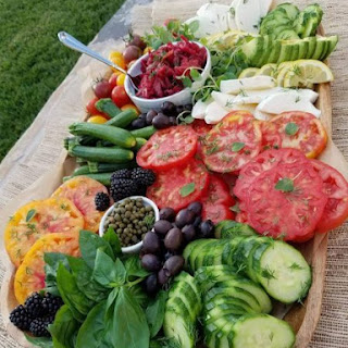 Summer Vegetable Platter.