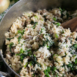 Sausage and Broccoli Rabe Risotto