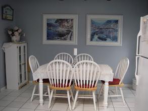 Photo: Dining area off kitchen