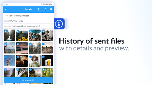 Filemail screenshot 7