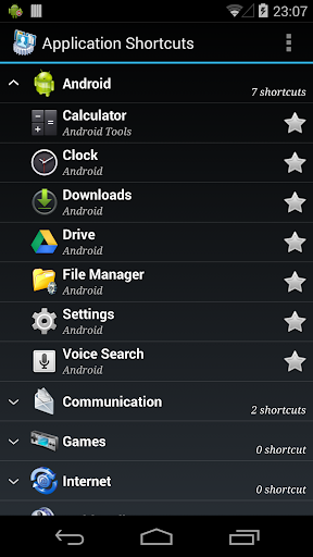 Smart Shortcuts screenshot 1