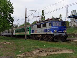 """Photo: EP07-1043, TLK """"Sielawa"""" Olsztyn Główny - Poznań Główny {Toruń Miasto; 2015-05-09}"""