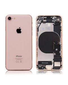 iPhone 8G Housing with small parts Original Pulled Gold