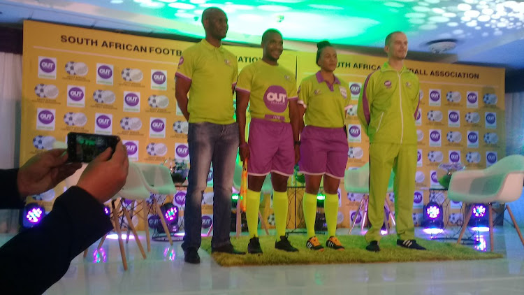 New match officials kit SAFA match officials will be wearing for their league and cup competitions from now on wards.