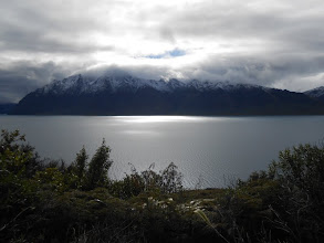 Photo: Camino a Franz Josef: Lago Hawea
