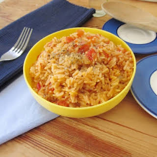 Spanish Rice For A Crowd.