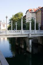 Photo: Ljubljanan siltoja.
