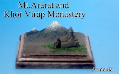 Mount Ararat & Khor Virap Monastery -Armenia-