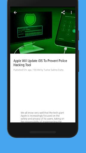 Hackers News (Tech & Cyber Security News) 3.1.3 Screenshots 5