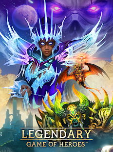 How to hack Legendary : Game of Heroes for android free
