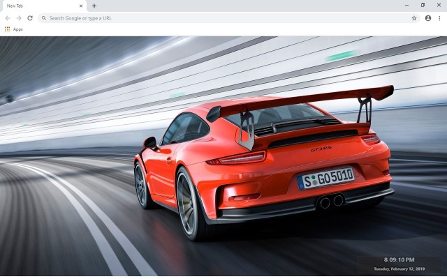 Porsche New Tab & Wallpapers Collection