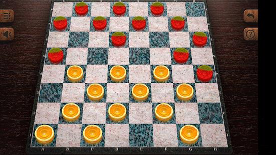 jeu de dames - náhled