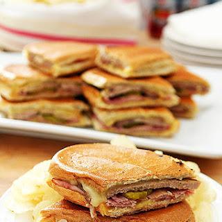 Authentic Cubano Sandwich.