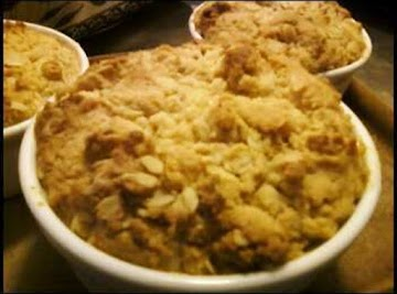 Peach Filling W/ Aunt Jemima Crumble Topping Recipe