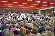 """Photo: """"Carmina burana""""-Aufführungen  Pius-Gymnasium, Aachen  / 13./14.02.2004"""