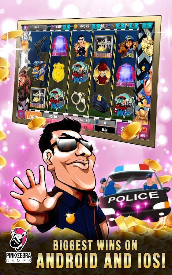 online internet casino cops and robbers slot