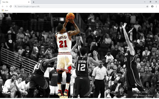 Jimmy Butler New Tab & Wallpapers Collection