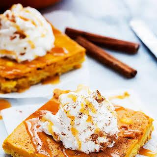 Pumpkin Pie Sheet Cake.