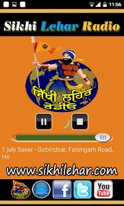 Sikhi Lehar Radio screenshot 2