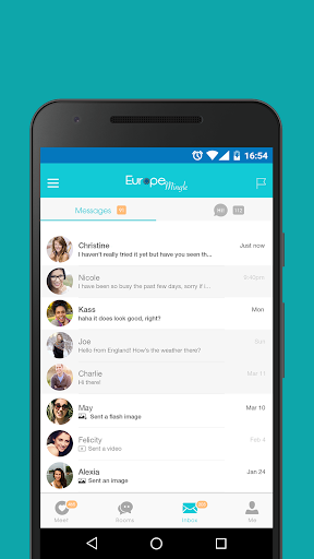 Europe Mingle - Dating Chat with European Singles 5.7.1 screenshots 5