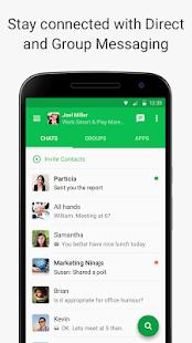 Flock: Team Communication App - náhled