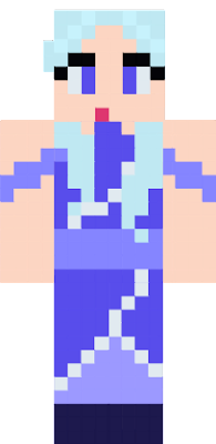 A female water bender that I designed, inspired by the water benders in Avatar: the Last Airbender :D
