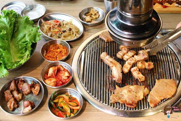 台北東區 台韓民國 韓式烤肉店 最愛調味豬 秘醬牛肋條 西瓜燒酒不能錯過