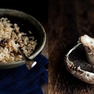 Portobello Mushroom Risotto