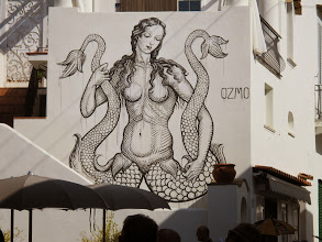 Photo: It.s5ITL127-141008Anacapri, dessin mural, naïade  IMG_5676