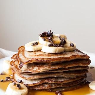 Fluffy Gluten Free Cashew Pancakes Recipe