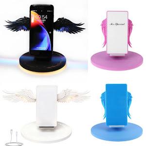 Incarcator wireless cu aripi de inger