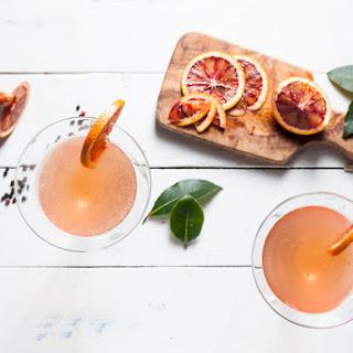 Blood Orange Gin Martini.