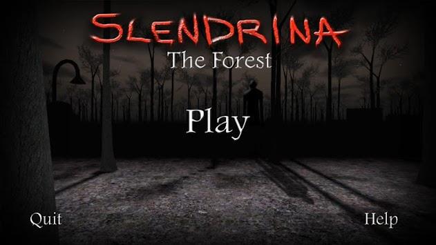 Slendrina: The Forest apk screenshot