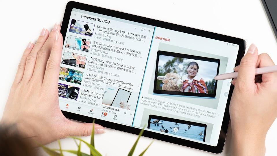 不只是 Lite 的三星 Galaxy Tab S6 Lite - 25