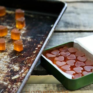 Homemade Cough Drops {lemongrass + ginger}.
