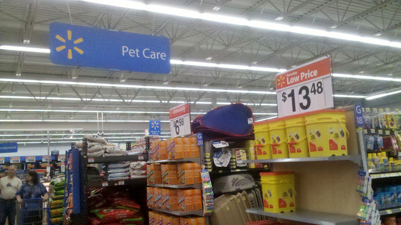 Photo: For this trip we headed back to the Pet Care section first.