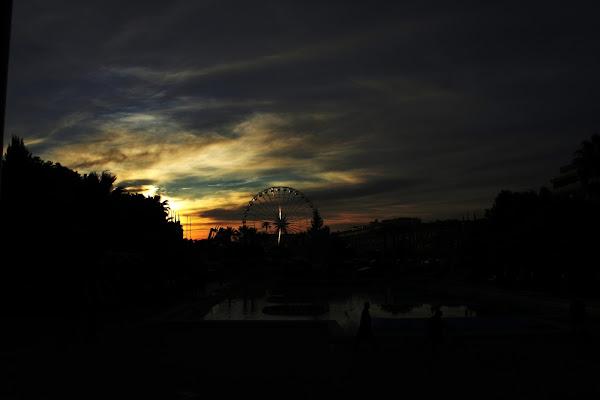 Le ruota al tramonto di Ribe