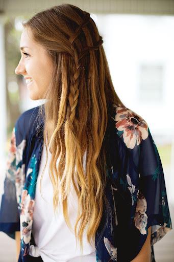 简单的发型教程